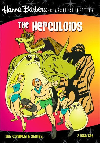 Herculoids The Complete Original Animated Series (2 DVD Set)