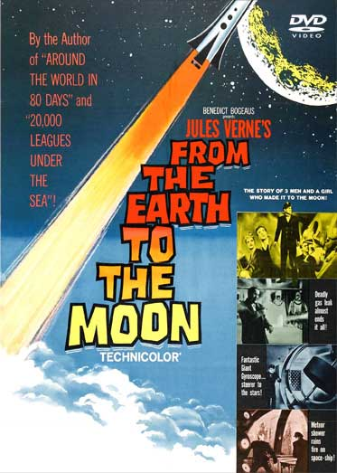 Jules Verne's From the Earth to the Moon 1958 DVD