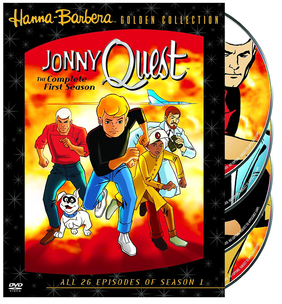 Jonny Quest The Complete First Season DVD