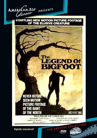 Legend of Bigfoot, The 1976 DVD Digitally Remastered