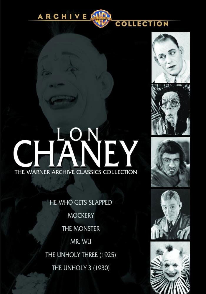 Lon Chaney Warner Archives Classics Collection DVD 6 Films