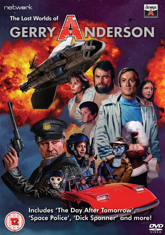 Lost Worlds of Gerry Anderson DVD