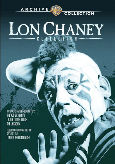 Lon Chaney Collection 3 Films Plus London After Midnight DVD