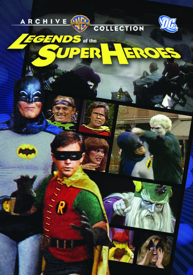 Legends of the Super Heroes with Batman 1979 TV DVD