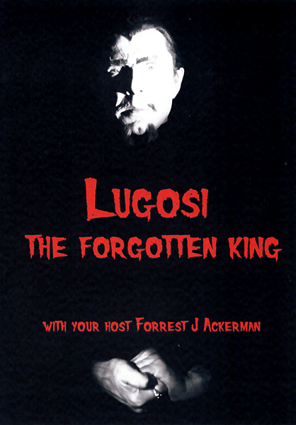 Lugosi The Forgotten King Bela Lugosi Documentary DVD
