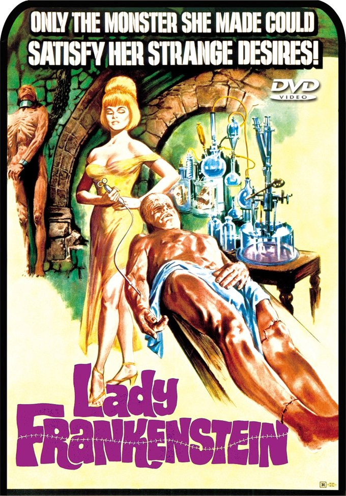 Lady Frankenstein 1972 DVD
