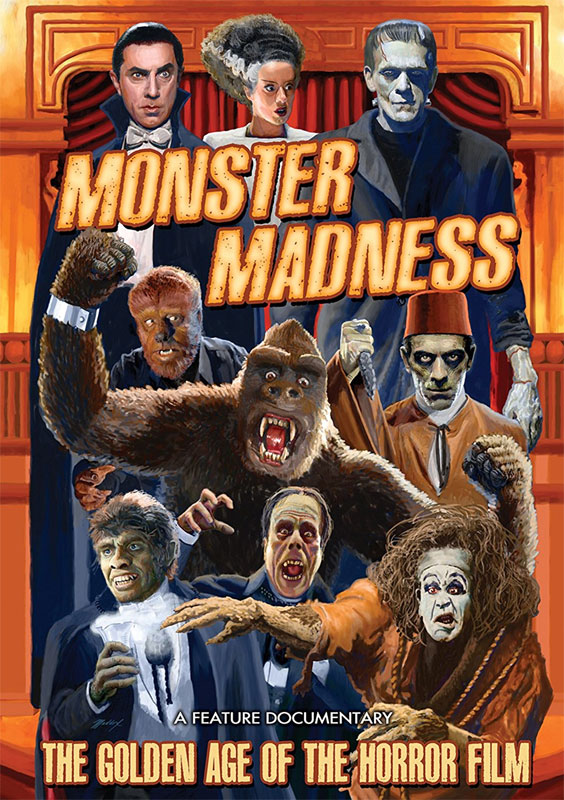 Monster Madness The Golden Age of the Horror Film DVD