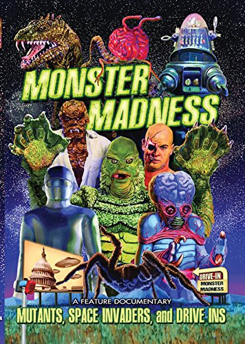 Monster Madness Mutants Space Invaders & Drive-In DVD