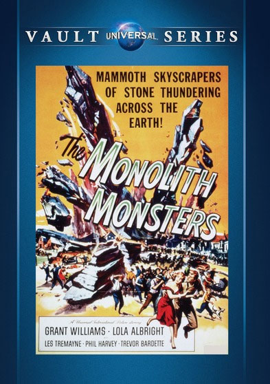 Monolith Monsters 1957 DVD