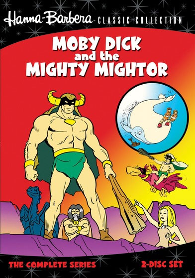 Moby Dick and the Mighty Mightor 1967 Complete Series DVD