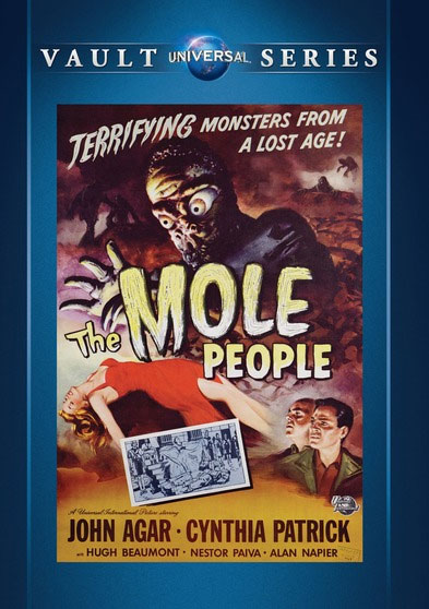 Mole People 1956 DVD