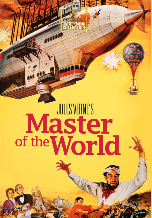 Master Of The World 1961 Widescreen DVD