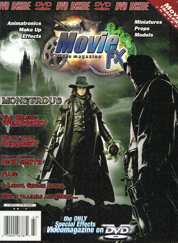Movie FX Special Effects Magazine Issue #9 DVD