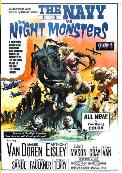 Navy Versus The Night Monsters 1966 DVD