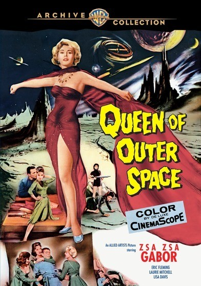 Queen Of Outer Space DVD