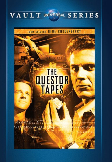 Questor Tapes, The 1974 TV Movie DVD Gene Roddenberry