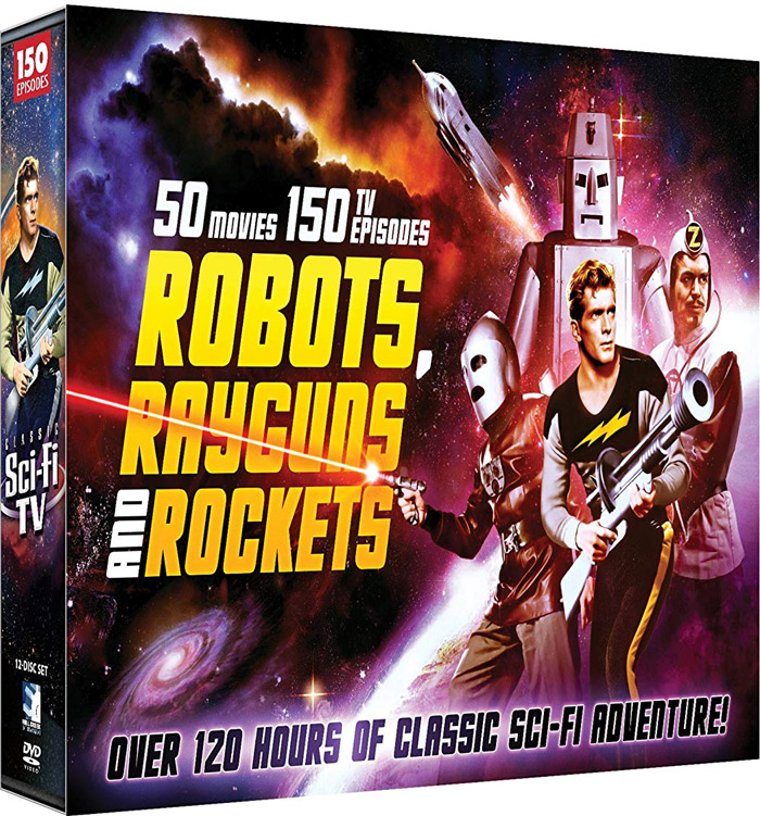 Robots, RayGuns and Rockets 50 Movies and 150 TV Episodes Science Fiction Collection DVD Box Set