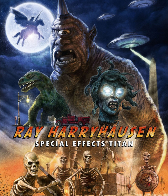 Ray Harryhausen: Special Effects Titan Special Edition Blu-Ray