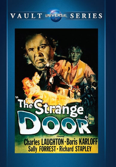 Strange Door, The 1951 DVD Boris Karloff Charles Laughton
