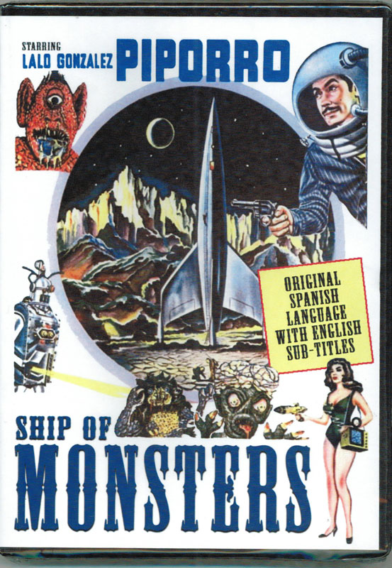 Ship of Monsters (La Nave De Los Monstrous) 1960 DVD (English Sub-Titles)