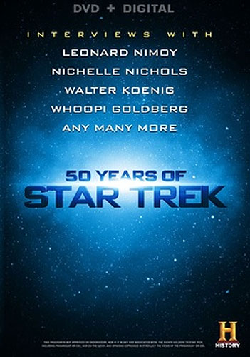 Star Trek 50 Years of Star Trek Documentary DVD History Channel