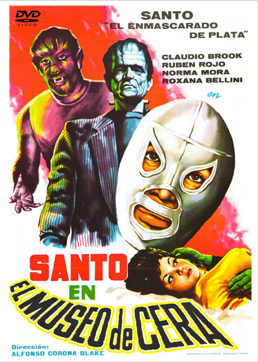 Santo In The Wax Museum 1963 DVD