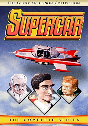 Supercar The Complete Series DVD Gerry Anderson Collection