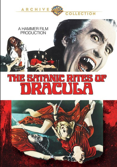 Satanic Rites of Dracula 1973 DVD Christopher Lee