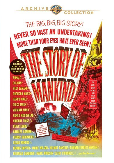 Story of Mankind, The 1967 DVD Irwin Allen