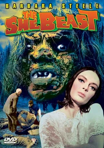 She Beast, The 1966 DVD Barbara Steele