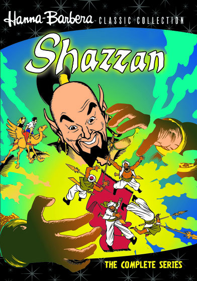 Shazzan The Complete 1967 Animated TV Series DVD