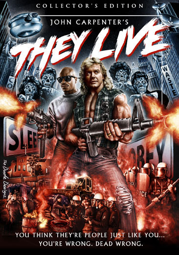 They Live Collectors Edition DVD