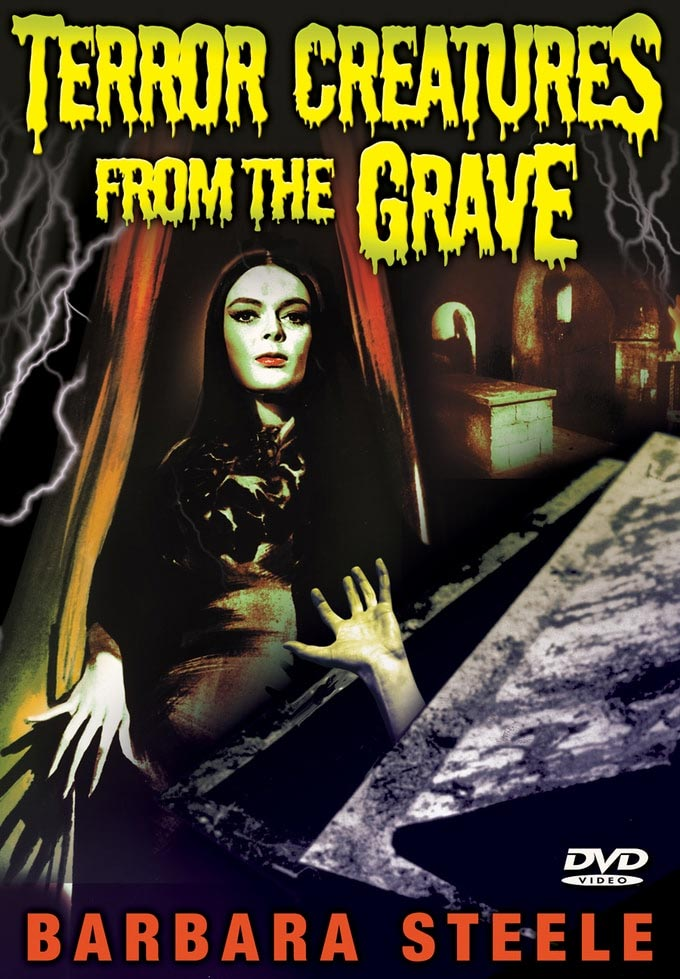 Terror Creatures From The Grave 1965 DVD Barbara Steele