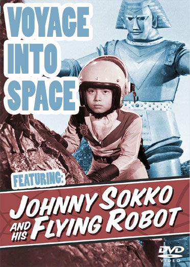 Voyage Into Space 1970 DVD Johnny Sokko Giant Robot