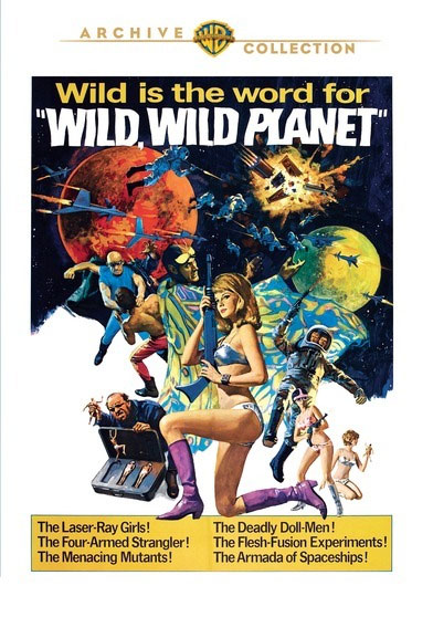 War of the Planets 1966 Widescreen DVD [19DW511] - $15.99 ...