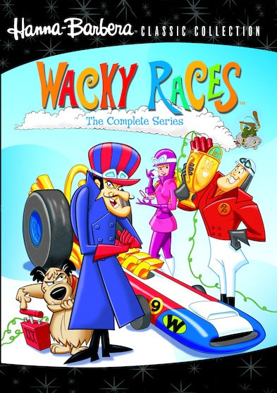 Wacky Races The Complete Series Collection DVD