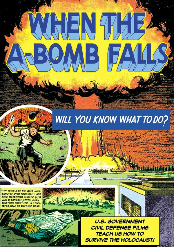 When The A-Bomb Falls 1953 DVD