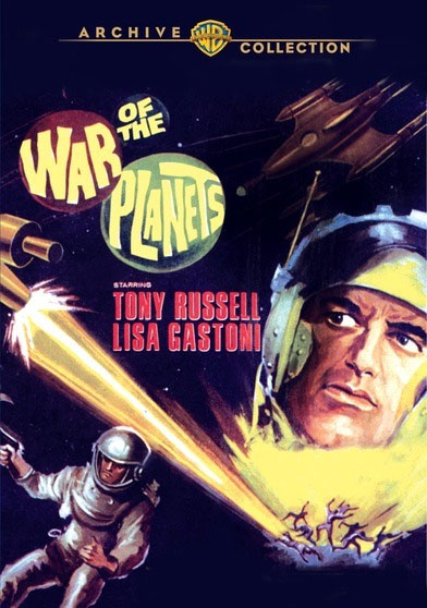 War of the Planets 1966 Widescreen DVD