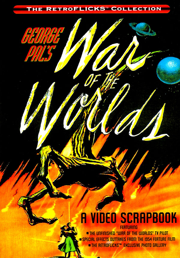 War Of The Worlds 1953 Video Scrapbook DVD George Pal H. G. Wells