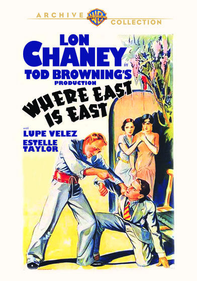 Where East is East 1929 DVD Lon Chaney