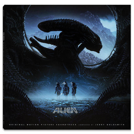 Alien 1979 Original Soundtrack Vinyl LP Jerry Goldsmith 2LP