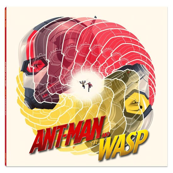 Ant-Man and the Wasp Soundtrack LP Christopher Beck 2LP Set