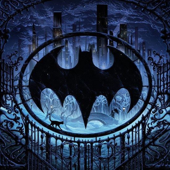 Batman Returns Soundtrack Vinyl LP by Danny Elfman 2LP SET