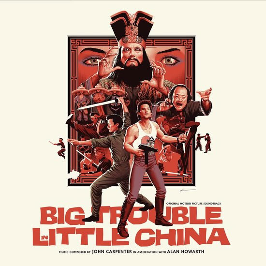 Big Trouble In Little China Soundtrack Vinyl LP John Carpenter