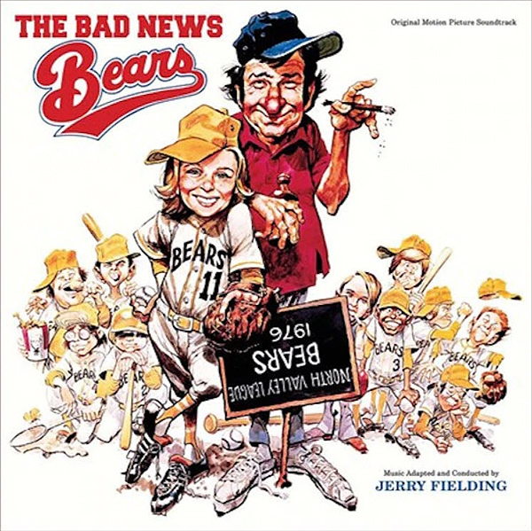 Bad News Bears Soundtrack Vinyl LP Jerry Fielding Yellow Vinyl LIMITED EDITION