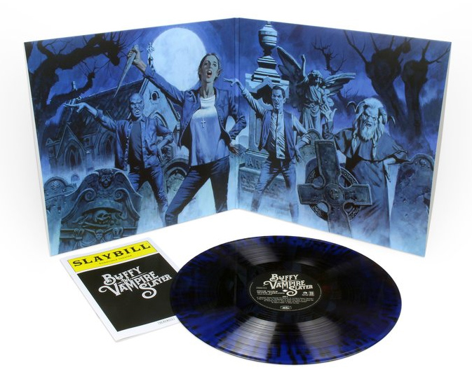Buffy the Vampire Slayer Once More With Feeling Soundtrack LP Limited Edition Blue Vinyl