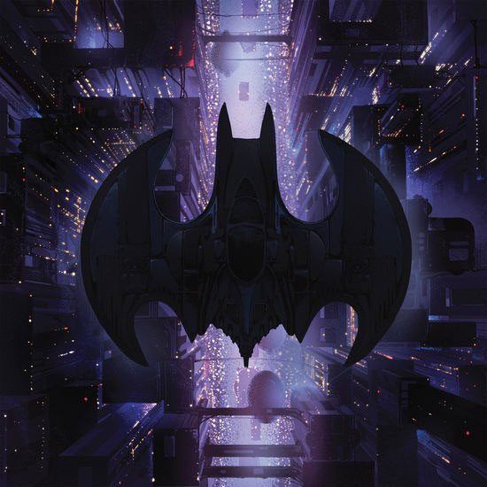 Batman 1989 Soundtrack Vinyl LP Danny Elfman