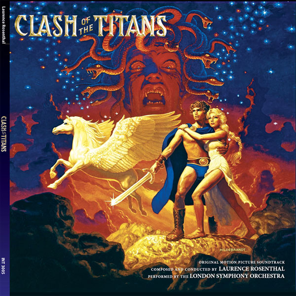 Clash of the Titans Soundtrack LP 180 Gram Vinyl Laurence Rosenthal 2LP Set