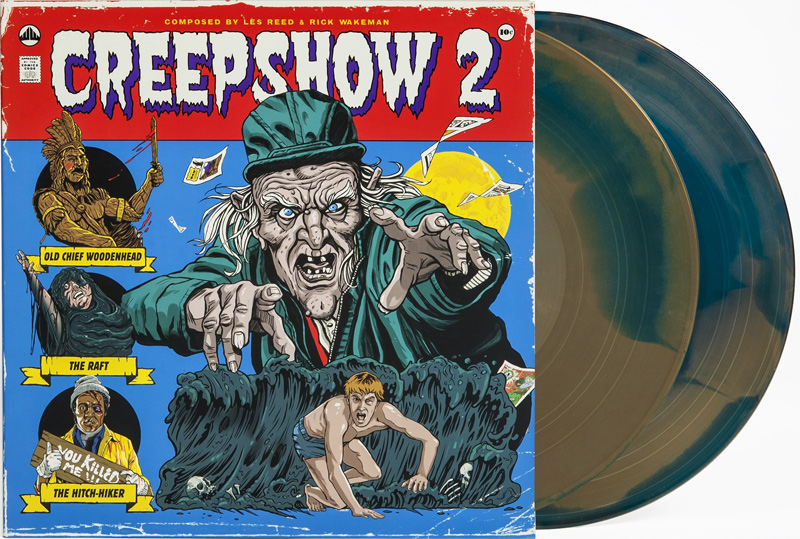 Creepshow 2 Soundtrack Vinyl LP Les Reed Rick Wakeman