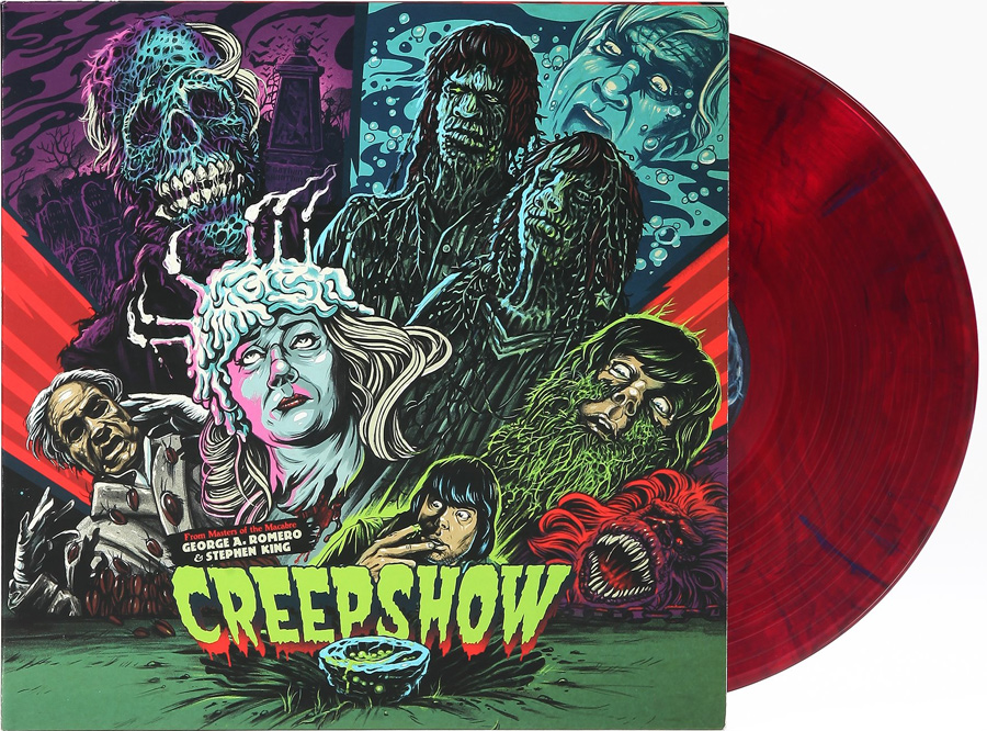 Creepshow Soundtrack Vinyl LP John Harrison Re-Pressing